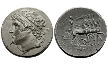 Sicily, Syracuse, 32 Litrae ca. 250-216 BC, from the Pozzi and V. Brand collections