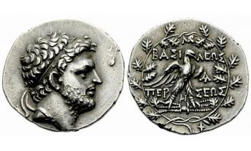 Kings of Macedonia, Perseus, 178–168, Tetradrachm ca. 173-171 BC, Pella or Amphipolis