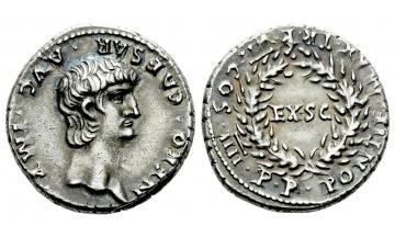 Roman Empire, Nero augustus, 54-68, Denarius 60-61, Rome