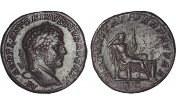 Roman Empire, Caracalla, 198-217, Sestertius, Rome