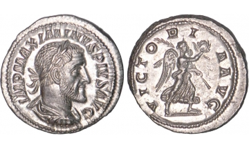 Roman Empire, Maximinus I, 235-238, Denarius, Rome