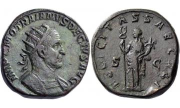 Roman Empire, Trajan Decius, 249-251, Double Sestertius, Rome