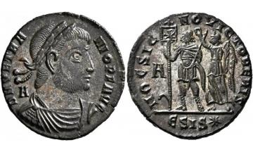 Roman Empire, Vetranio, 350, Maiorina, Thessalonique