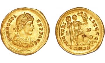 Byzantine Empire, Arcadius, 383-408, Solidus, Constantinople