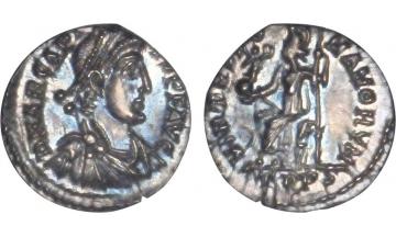 Byzantine Empire, Arcadius, 383-408, Siliqua, Trier