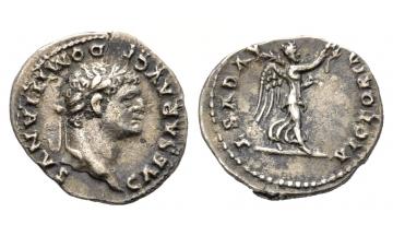 Roman Empire, Vespasian, 69-79, Quinarius 75, Rome