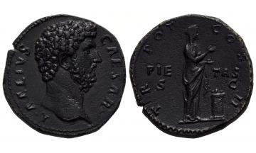 Roman Empire, Hadrian, 117-138, Sestertius 137, Rome