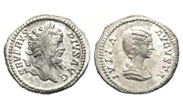Roman Empire, Septimius Severus, 193-211, Denarius 202-210, Rome
