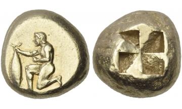 Mysia, Cyzicus, Stater, circa 500-450