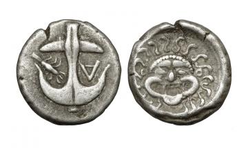 Thrace, Apollonia Pontika, Drachm ca. 470-435 BC