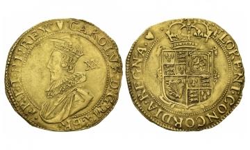United Kingdom, Charles I 1625-1649, Unite (20 Shillings), 1625, London