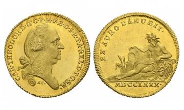 Bavaria, Karl Theodor (1777-1799), Ducat (Donaugold), 1780, Munich