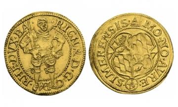 Pfalz, Richard (1569-1598), Ducat, 1577, Simmern