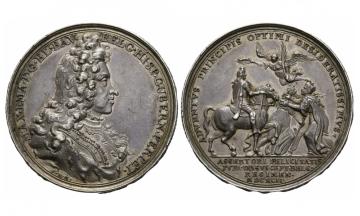 Bavaria, Max. II. Emanuel (1679-1726), Silvermedal, 1692