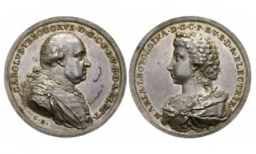 Bavaria, Karl Theodor (1777-1799), Silvermedal, 1796
