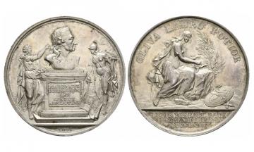 Brandenburg-Preussen, Fried. II the Great ( 1740-1786), Silvermedal, 1779