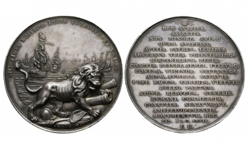 Netherlands, City of Amsterdam, Silvermedal, 1667