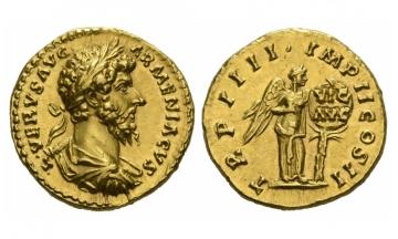 Roman Empire, Lucius Verus (161-169), Aureus 163/164