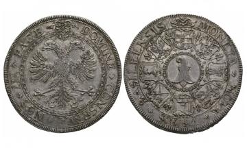 Switzerland, Basel, City, Doppeltaler End of 17th Century