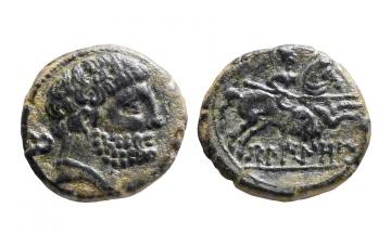 Spain, Belikio, Unit or AE 22 ca. 120-20 BC