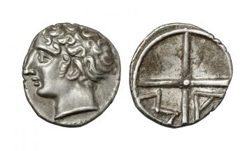 Gaul, Massalia, Obol ca. 220-125 BC