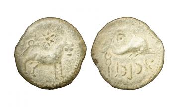 Iberia, Asido 2nd century BC, Semis