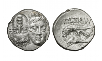 Danubian District, Istrus, Drachm ca. 4th century BC