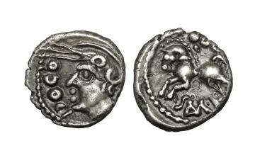 Celtic France, Besançon area, Sequani, Quinarius ca. 100-50 BC