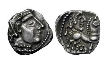 Gallia, Lemovices, Quinarius ca. 2nd-1st century BC