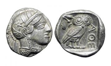 Attica, Athens, Tetradrachm ca. 454-404 BC
