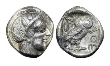 Attica, Athens, Tetradrachm ca. 430s BC