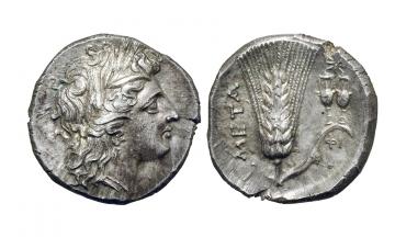 Lucania, Metapontum, Stater ca. 290-280 BC